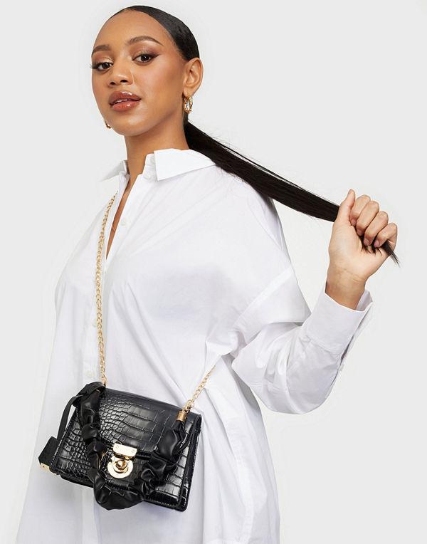 Glamorous väska Croc PU Bag