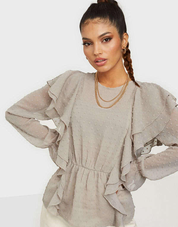 NLY Trend Flexible Frill Blouse