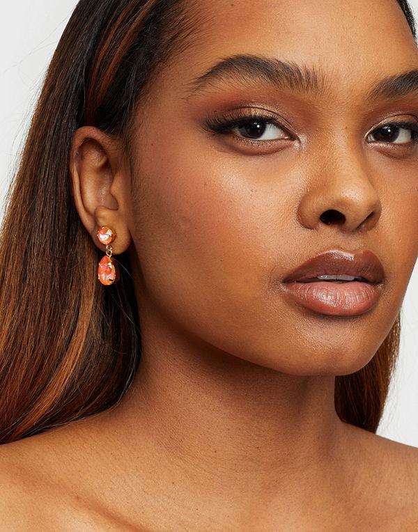 Caroline Svedbom smycke MINI DROP EARRING GOLD