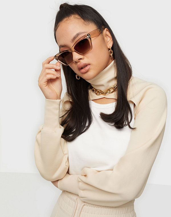 NLY Accessories Shiny Crystal Sunnies