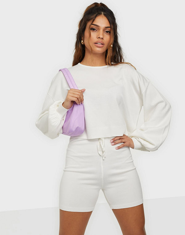 Missguided Knitted Shorts & Jumper Set