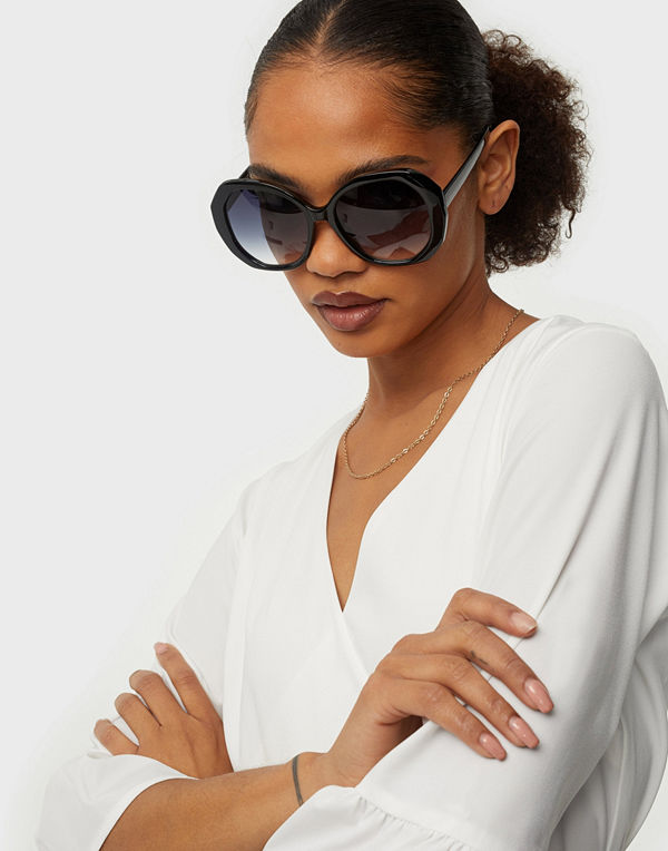 NLY Accessories Hexagon Vintage Sunnies