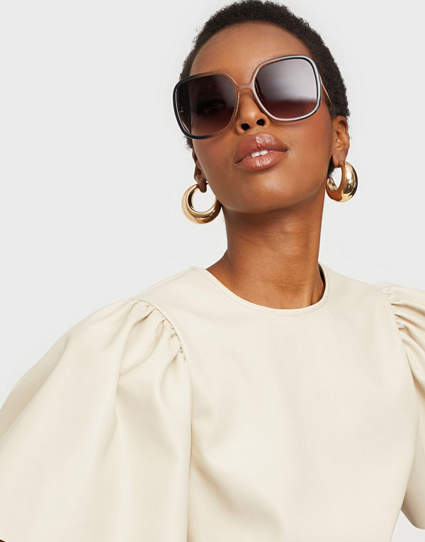 NLY Accessories Oversized 70's Sunglasses