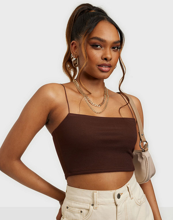 NLY One Crepe Strap Top