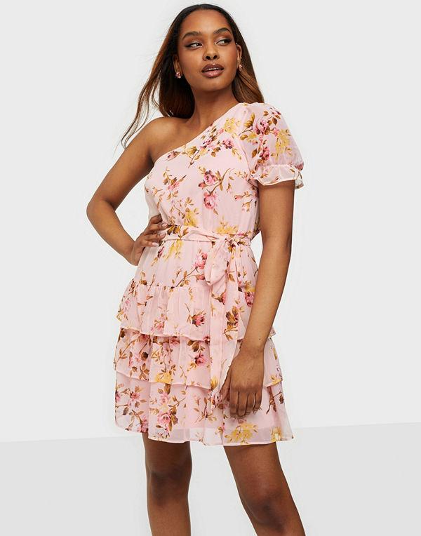 NLY Trend Sheer Dream Flounce Dress