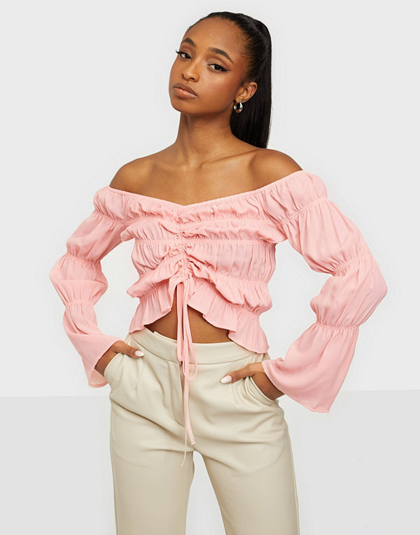 NLY Trend Date Smock Blouse