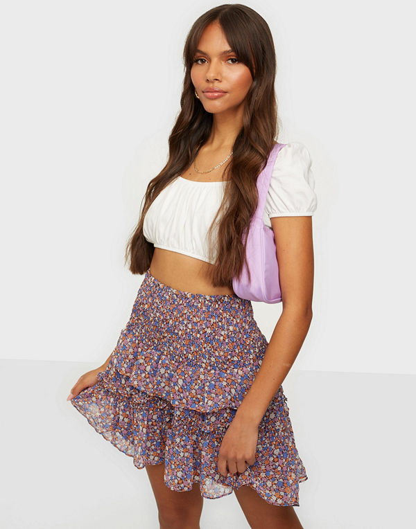 co'couture Amore Flower Smock Skirt