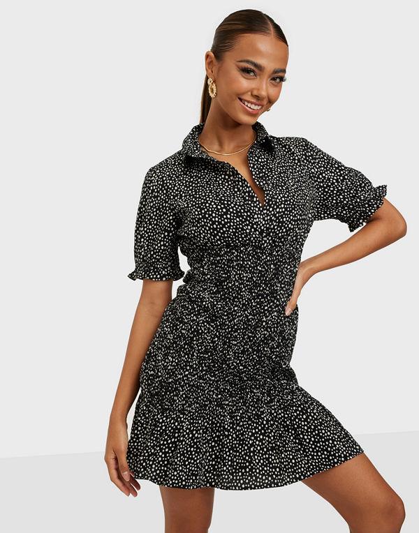 Vero Moda VMDICTHE S/S SHORT SMOCK DRESS EXP