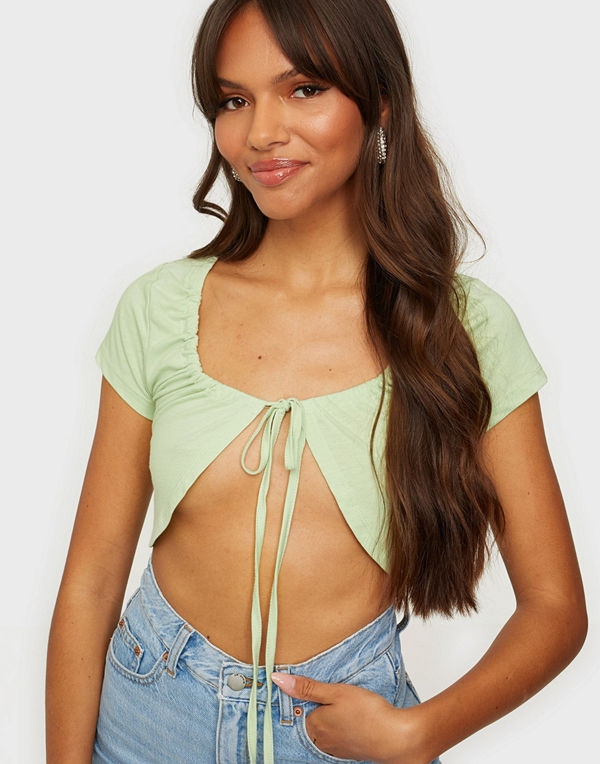 NLY Trend Drawstring Cropped Tee