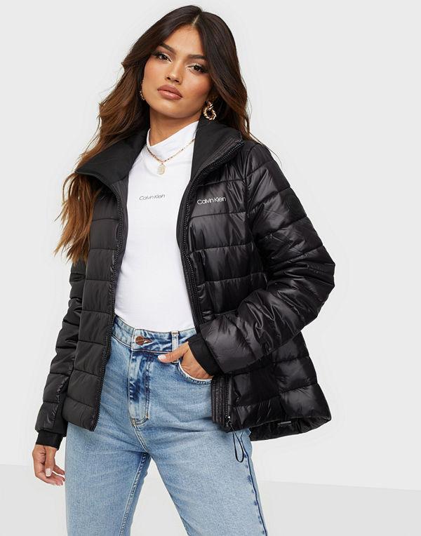 Calvin Klein Seasonal Sorona A-Line Jacket