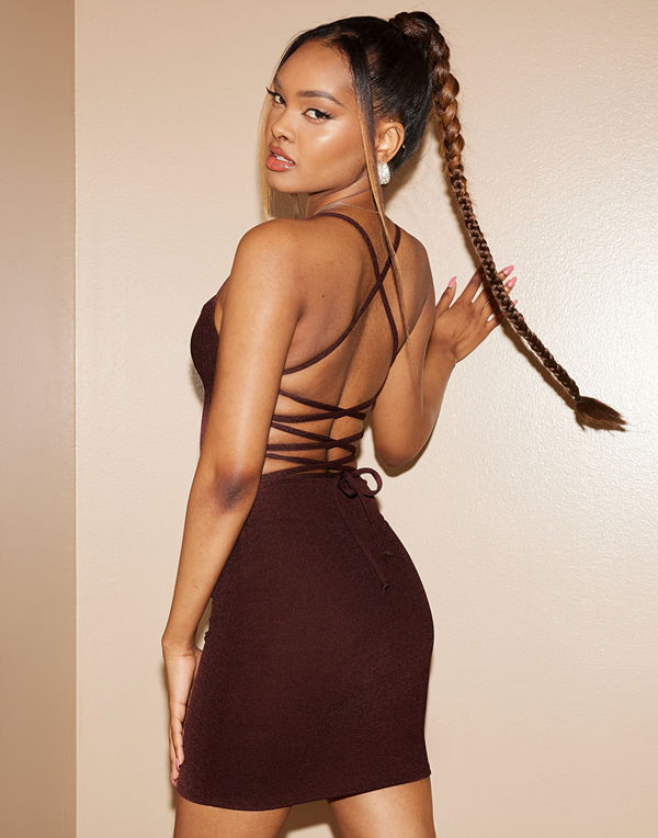 NLY One Lacing Back Dress