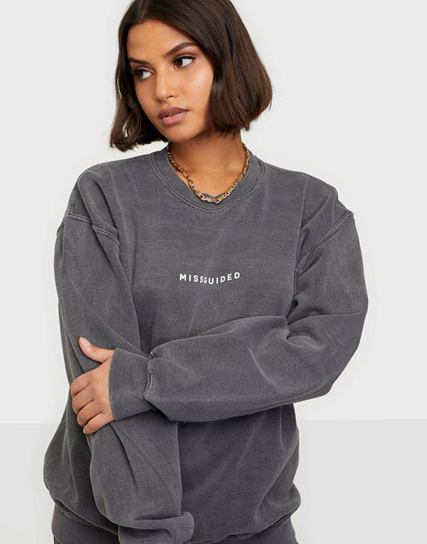 Missguided MG Washed Sweatshirt