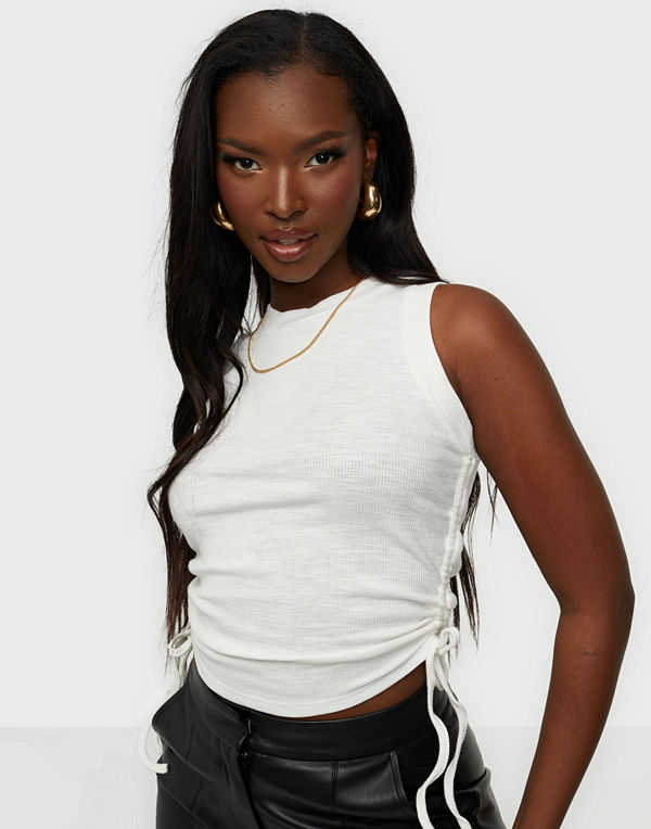 Glamorous Ruched Top