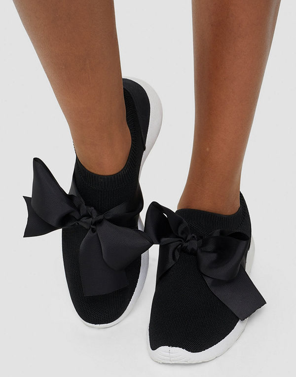 NLY Shoes Low Sock Bow Runner