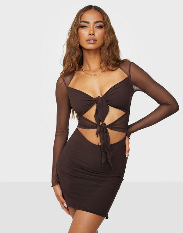 NLY One Mesh Up Dress