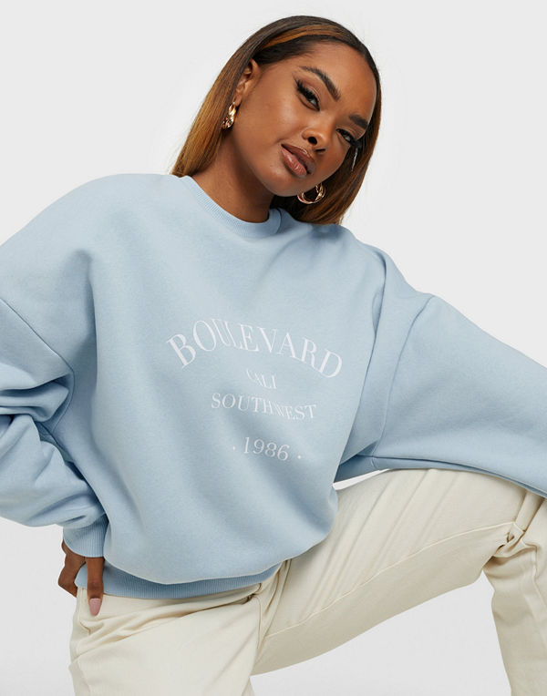 NLY Trend Printed Chunky Sweat
