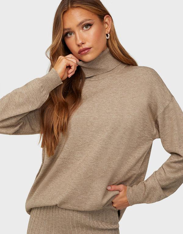 MOSS Copenhagen Galine Rachelle Roll Neck Pullover
