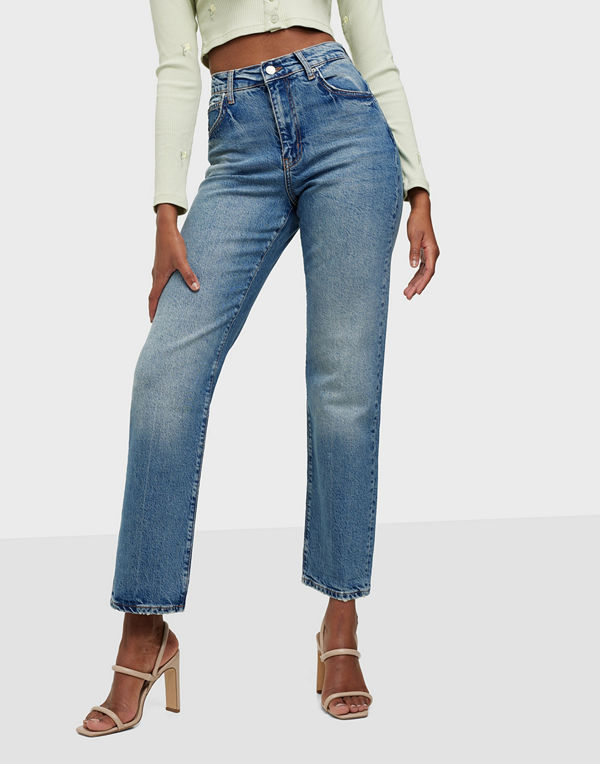 Pieces PCELAN HW STRAIGHT FLARED JEANS