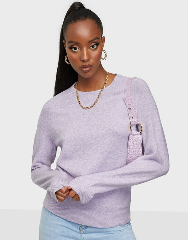 Only ONLRICA LIFE L/S PULLOVER KNT NOOS