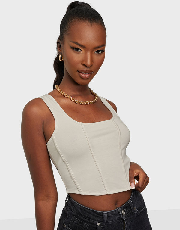 NLY Trend Corset Curve Top