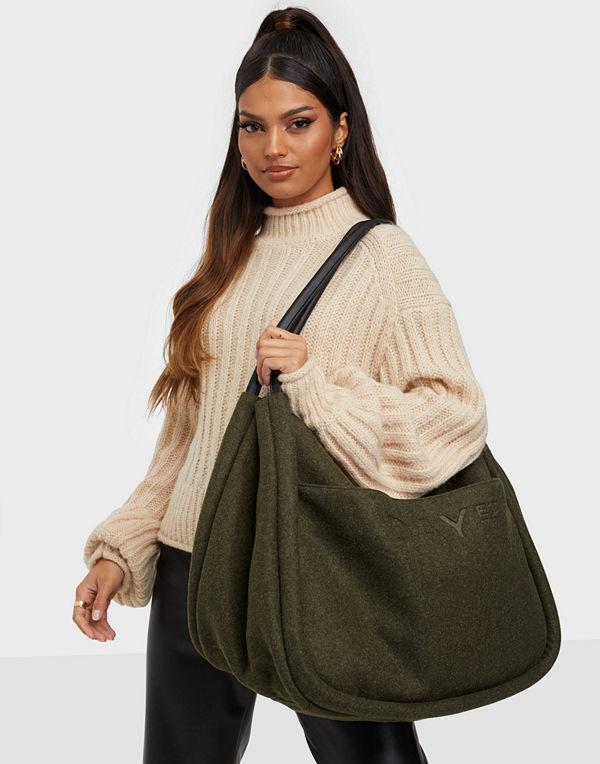 Day Et omönstrad väska Day Woolen Mega Shopper