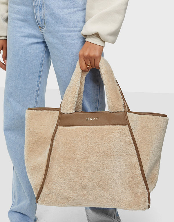Day Et omönstrad väska Day Teddy Bag