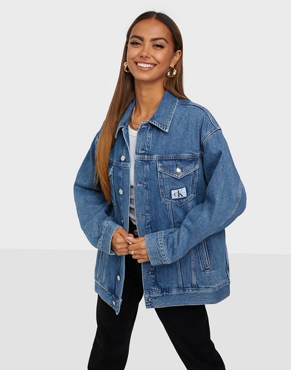 Calvin Klein Jeans LONG DAD DENIM JACKET