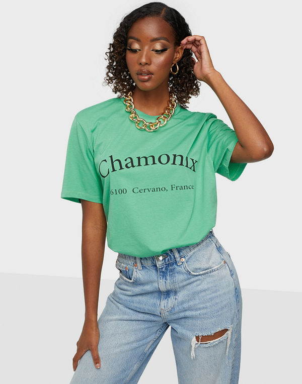 NLY Trend Oversize Statement Tee
