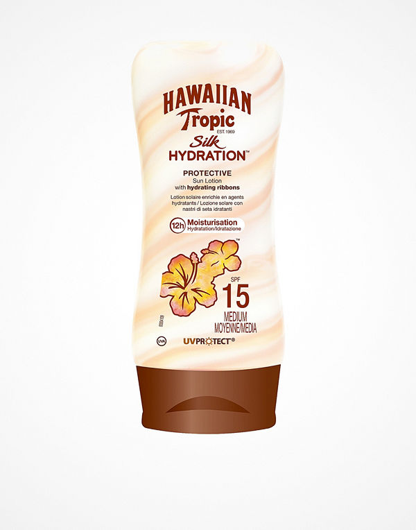 Hawaiian Tropic Silk Hydration Protective Sun Lotion SPF 15 180 ml